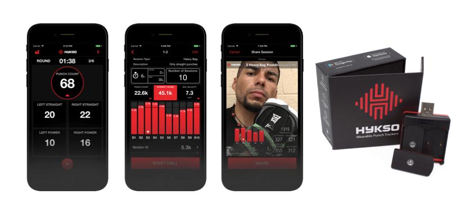 Hykso Punch Tracker App