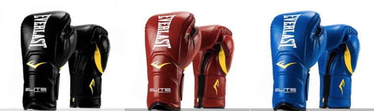 Everlast Elite Hook and Loop Training Gloves
